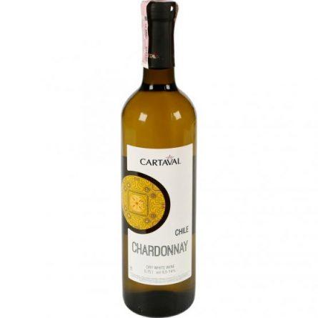 Вино Chardonnay Chile біле сухе