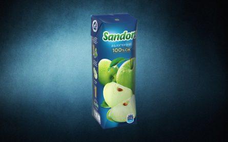 """Сік """"Sandora"""" яблуко"""