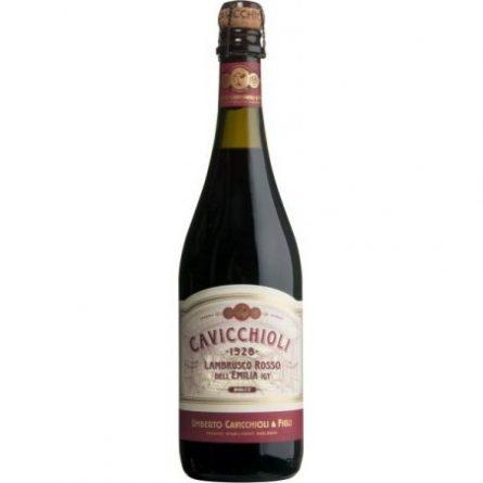 Шампанське Lambrusco червоне